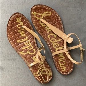 Sam Edelman Tan Gigi Thong Sandals Size 10M